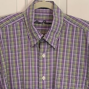 Alan Flusser Long Sleeve Button Down, Size L